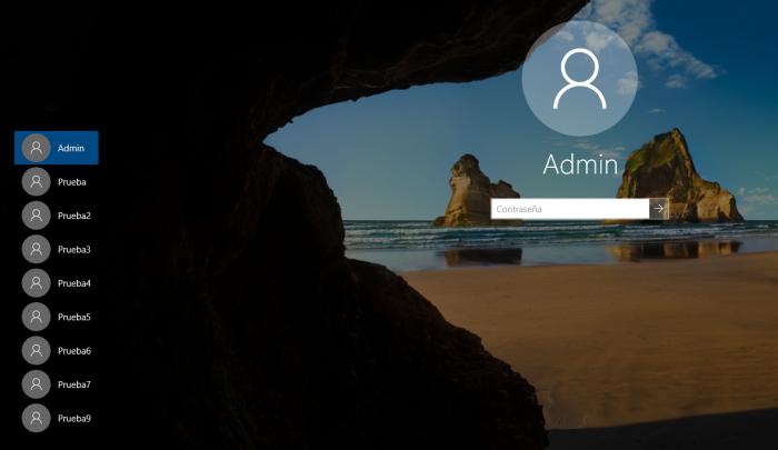 El inicio de sesión de Windows exige escribir nombre usuario