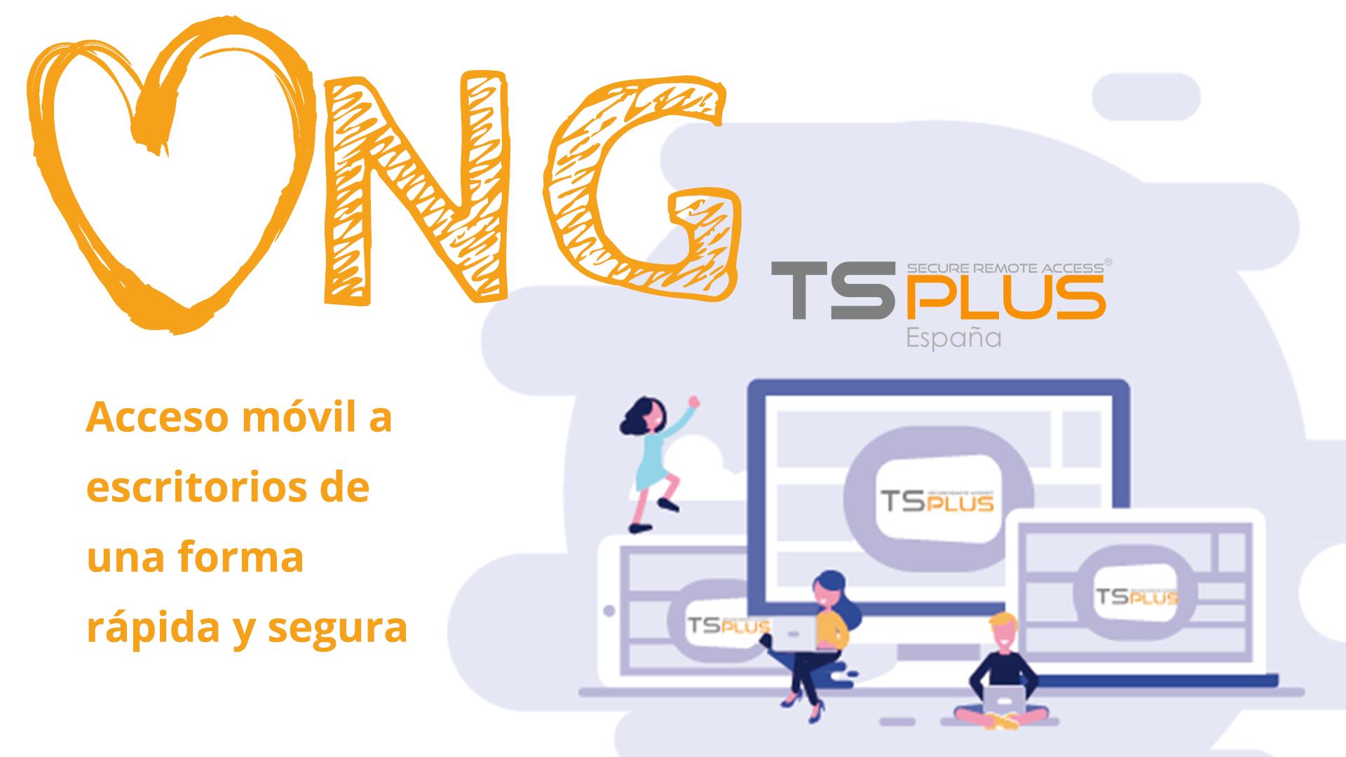 TSplus con las ONGs